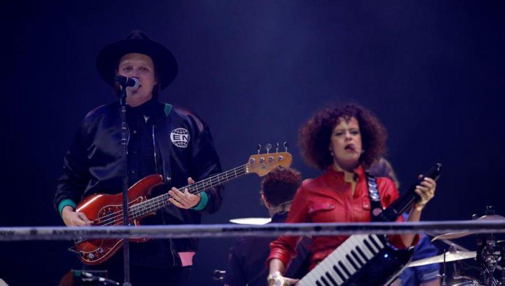 Arcade Fire en Madrid