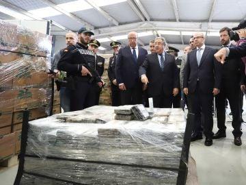 Alijo de cocaína incautado en Algeciras