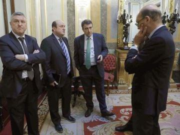 Diputados del PNV en el Congreso de los Diputados