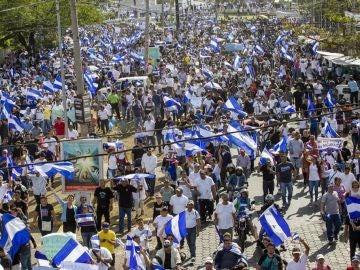 Movilizaciones en Nicaragua