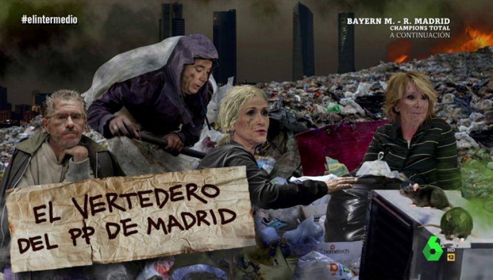 El vertedero del PP de Madrid, en El Intermedio