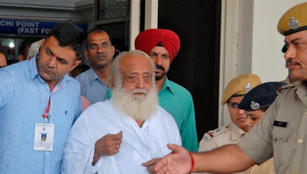 Asaram Bapu, el gurú acusado de violar a una menor