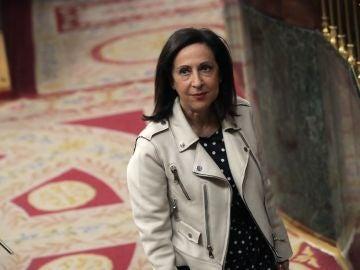 La portavoz del PSOE Margarita Robles, en el pleno del Congreso de los Diputados