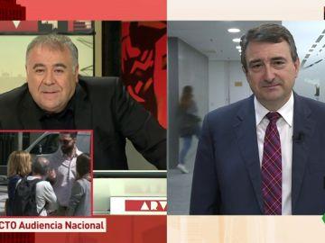 Aitor Esteban, portavoz del PNV