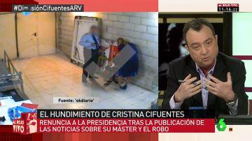 El exvicealcalde de Madrid y amigo de Cristina Cifuentes, Manuel Cobo