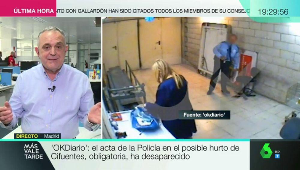 Manuel Cerdán, periodista de OkDiario