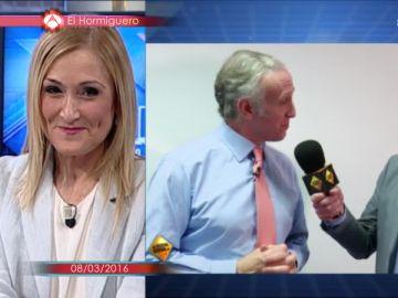 """La prueba de que """"entre Cristina Cifuentes y Eduardo Inda hubo amor"""""""