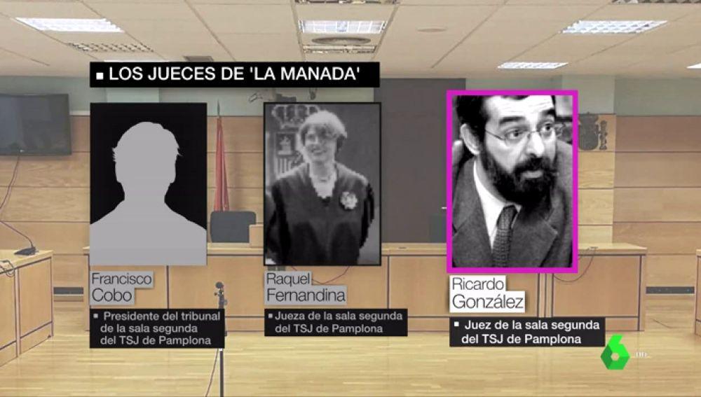Magistrados de 'La Manada'