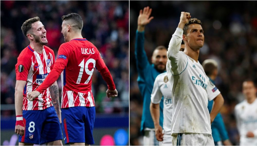 Atlético de Madrid y Real Madrid, finalistas de la Europa League y la Champions
