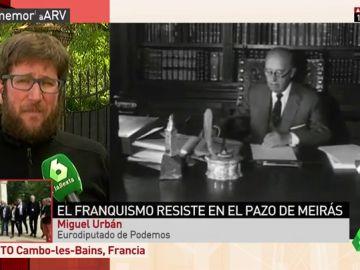"Un grupo de eurodiputados vista el Pazo de Meirás: ""Queremos poder juzgar al franquismo y acabar con su expolio"""
