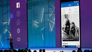 Mark Zuckerberg presenta Facebook Dating