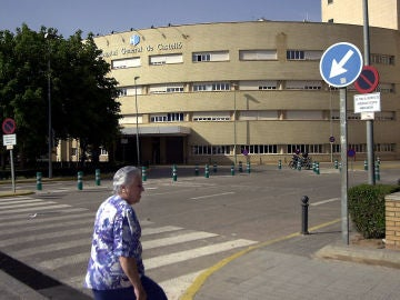 Vista del Hospital General de Castellón.