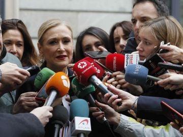La expresidenta de la Comunidad de Madrid, Cristina Cifuentes (Archivo)