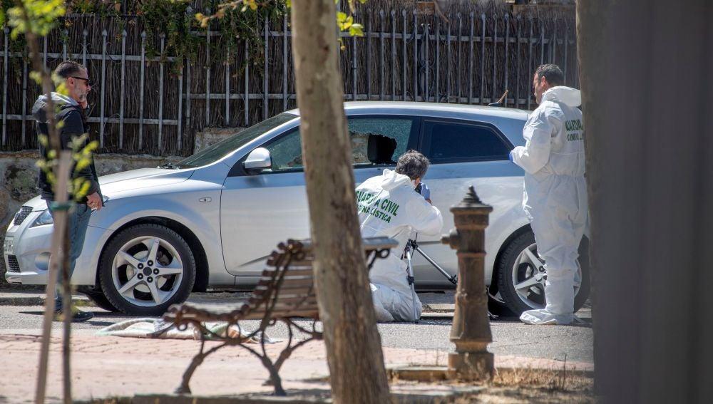 Investigación del tiroteo en Las Ventas de Retamosa, Toledo