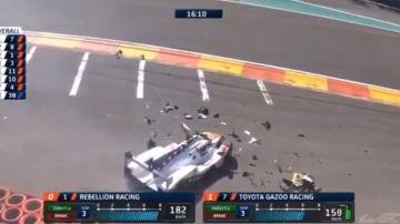El accidente de Pietro Fittipaldi
