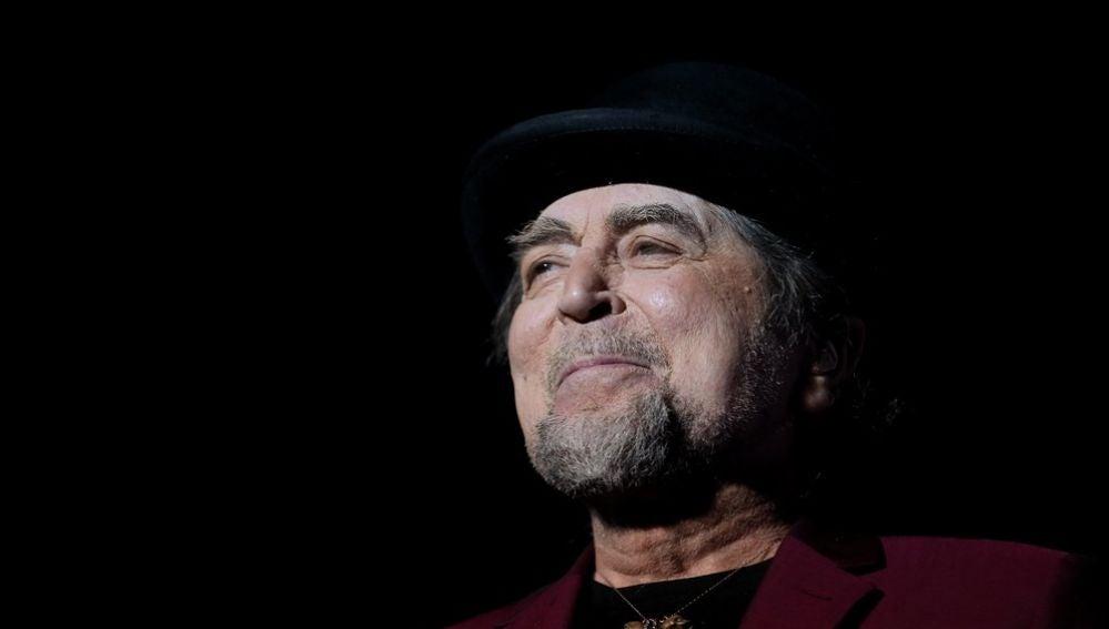 El cantautor español Joaquín Sabina.