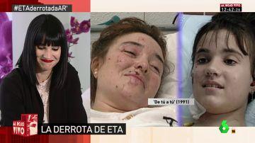 """La emoción de Irene Villa al recordar el reencuentro televisivo con su madre tras el atentado de ETA: """"El amor es más fuerte que el odio"""""""