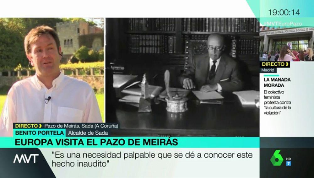 """Benito Portela, alcalde de Sada: """"Esto fue el epicentro del franquismo y tiene que ser el epicentro de la restitución"""""""