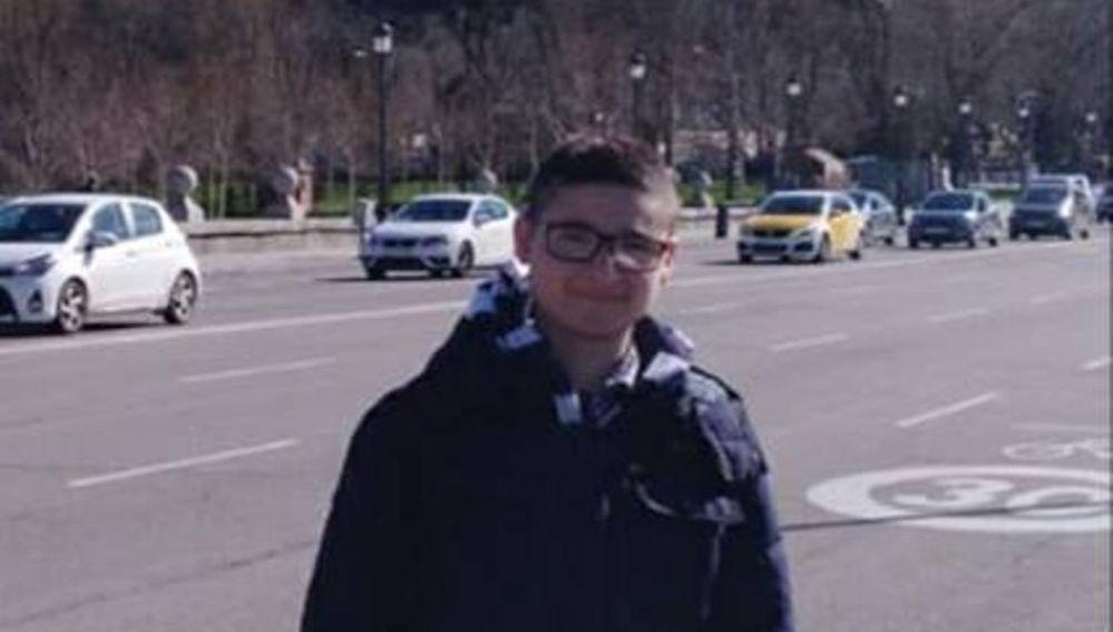 Michaell, niño desaparecido en Arganzuela