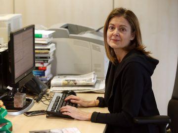 La periodista Pepa Fernández
