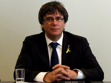 El expresidente catalán Carles Puigdemont