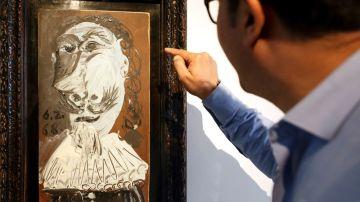 El 'Buste de mousquetaire', cuadro de Picasso
