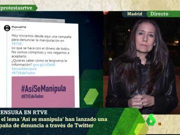 Alejandra Martínez, trabajadora de RTVE