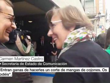 Carmen Martínez Castro, secretaria de Estado de Comunicación