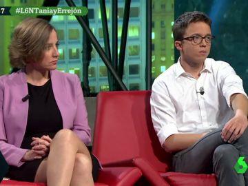 Tania Sánchez e Íñigo Errejón