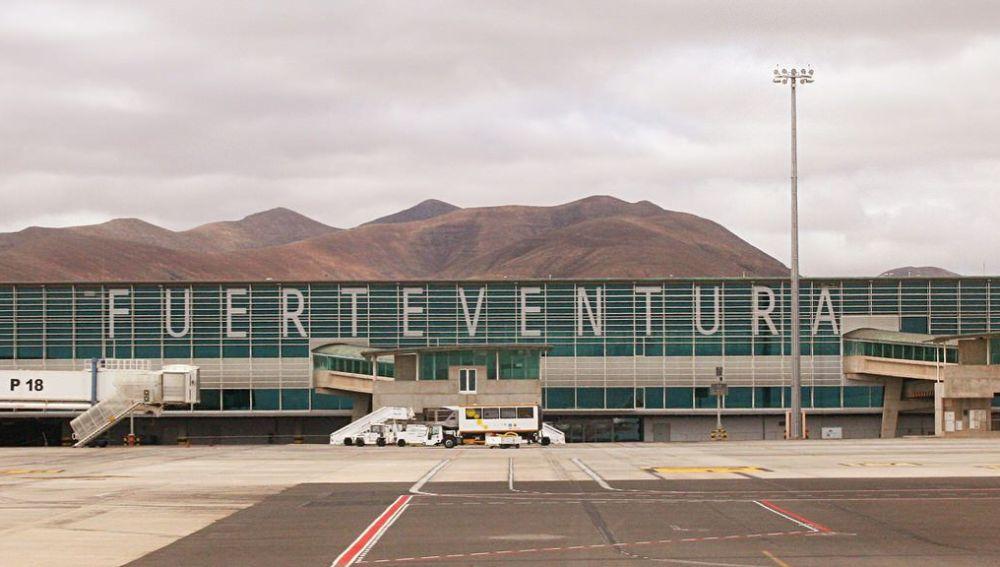 Imagen del aeropuerto de Fuerteventura