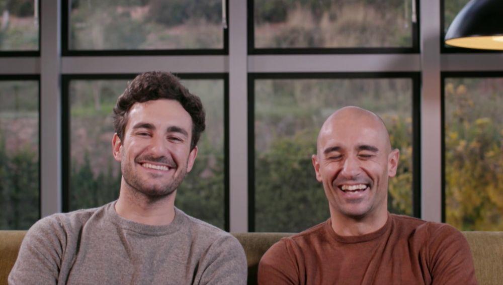 Miki Esparbé y Alain Hernández, en Salvados