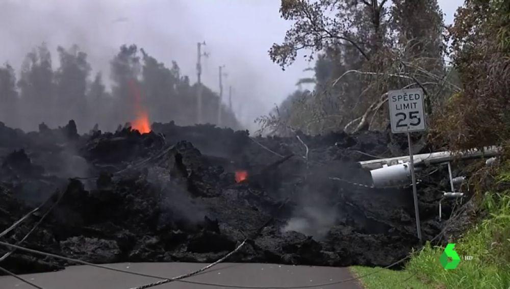 El volcán Kilauea y los terremotos siguen manteniendo en alarma a Hawai
