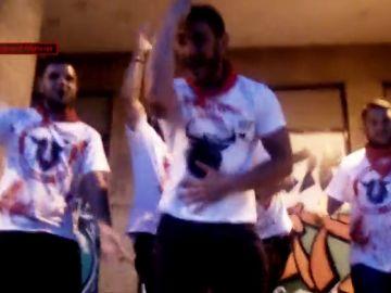 La Manada, de fiesta en San Fermín