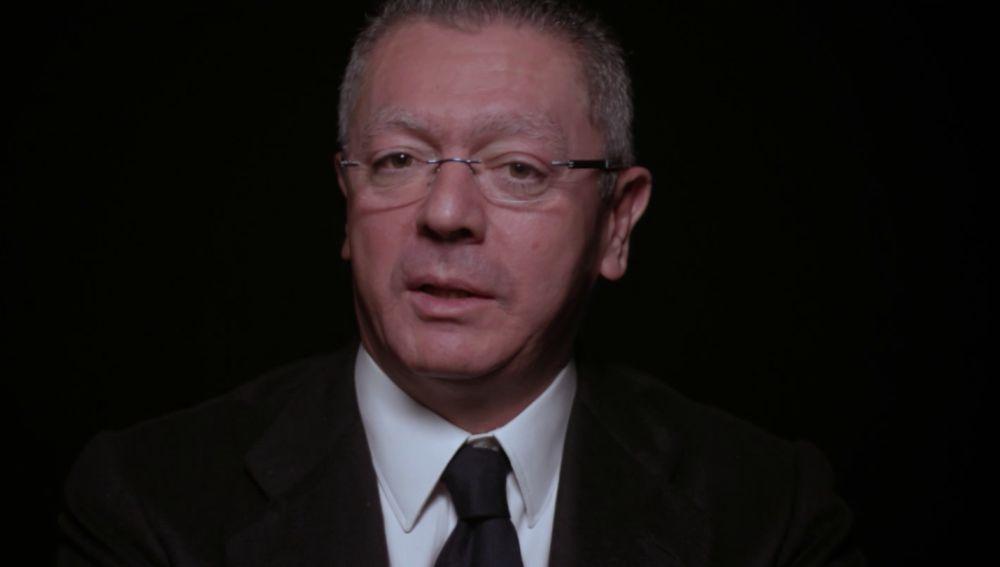 Alberto Ruiz Gallardón en Salvados