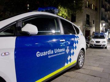 Coche de la Guardia Urbana en servicio