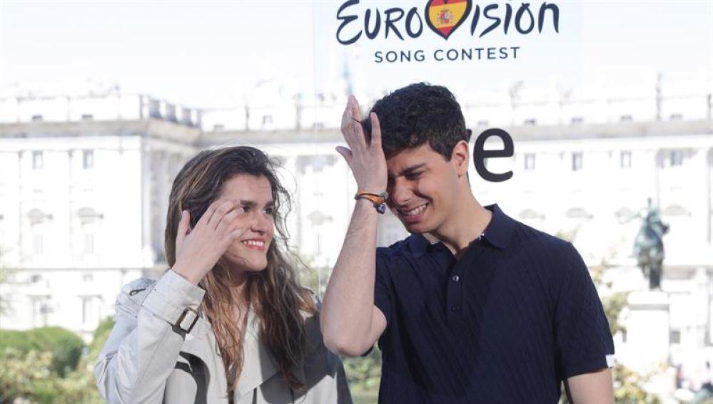 Alfred y Amaia, preparados para Eurovisión