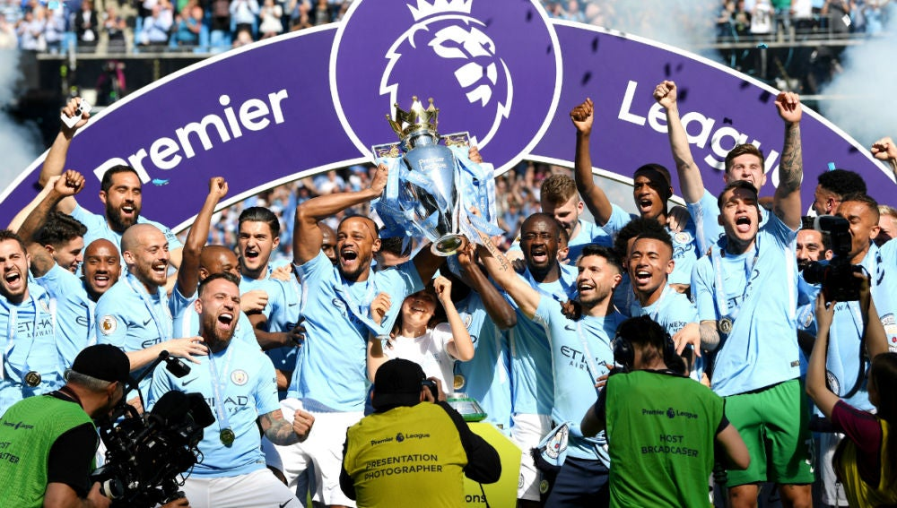 El Manchester City levanta la Premier