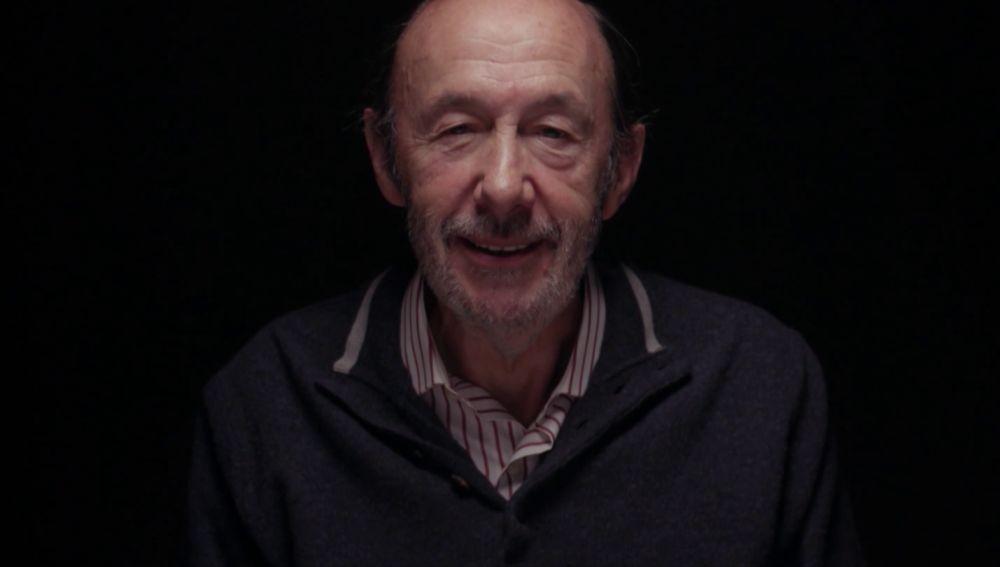 Alfredo Pérez Rubalcaba, en Salvados