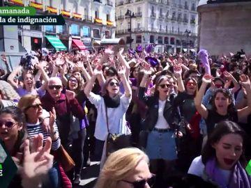 Las mujeres alzan la voz tras el caso de 'La Manada'