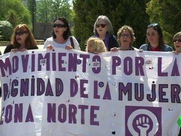 """Concentración en Alcobendas contra la sentencia de 'La Manada': """"Es indignante el doble rasero que se utiliza frente a cualquier tipo de delito y los de violencia machista"""""""