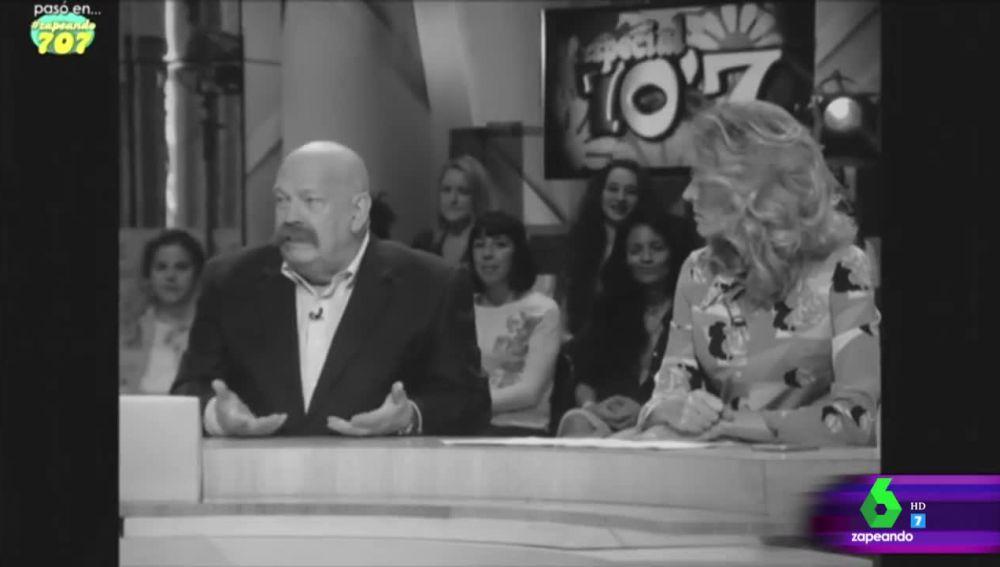 El día que José María Íñigo hizo de maestro de ceremonias en el especial de Zapeando sobre los años 70