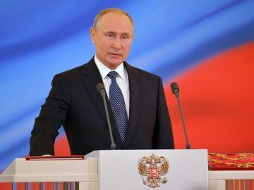 Investidura del dirigente ruso, en el Gran Palacio del Kremlin, Moscú, Rusia