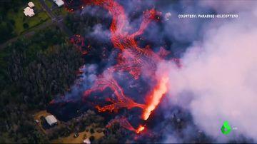 Más de 2.000 evacuados ante los chorros de lava de hasta 70 metros y los gases tóxicos: el volcán Kilauea sigue en erupción