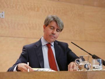 Ángel Garrido, al frente de la Comunidad de Madrid