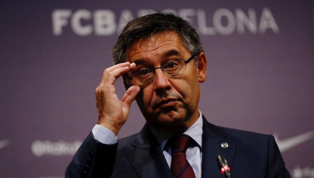 Josep Maria Bartomeu, presidente del FC Barcelona