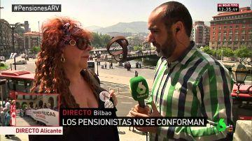 María, con una pensión de 720 euros al mes y un hijo a su cargo