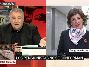 La diputada de Unidos Podemos Yolanda Díaz