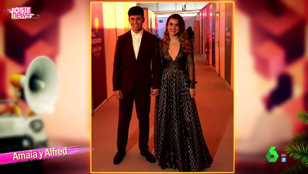 """Josie da un """"suspenso"""" al estilismo de Alfred y Amaia para Eurovisión"""