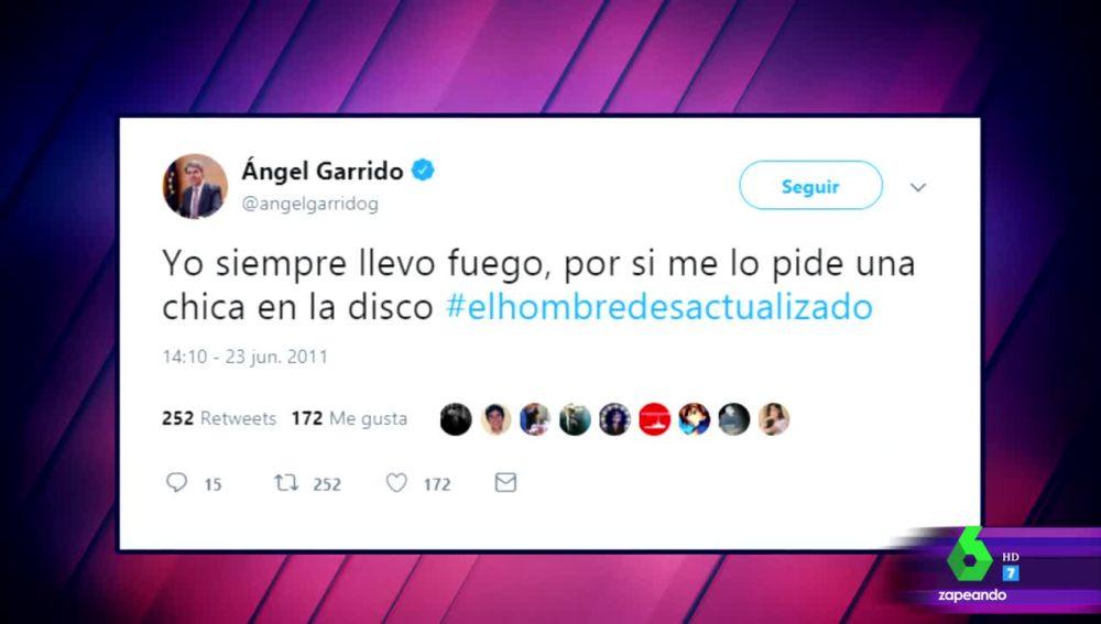 """Los tuits más """"canallas"""" de Ángel Garrido"""