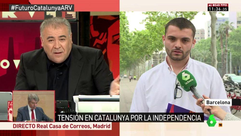 Josep Lago, coordinador de Joves Societat Civil Catalana